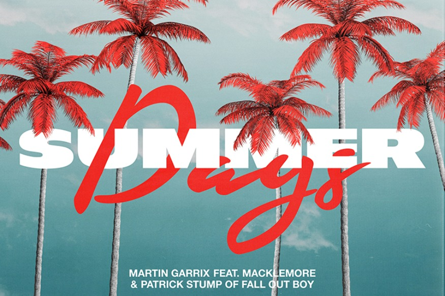 Summer Days, la collaboration entre Martin Garrix, Macklemore et Patrick Stump de Fall Out Boy