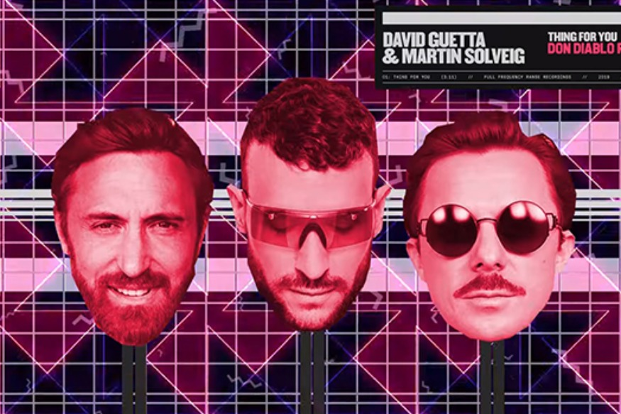 "Don Diablo dévoile un remix de ""Thing For You"" de David Guetta & Martin Solveig !"